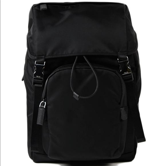 1a006c85c904 Prada Tessuto Montagna Nero Nylon Backpack NWOT. M_5b8816897c979dcf0edf2678